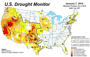 US drought