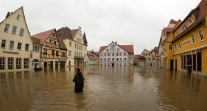 Central European floods update in pictures